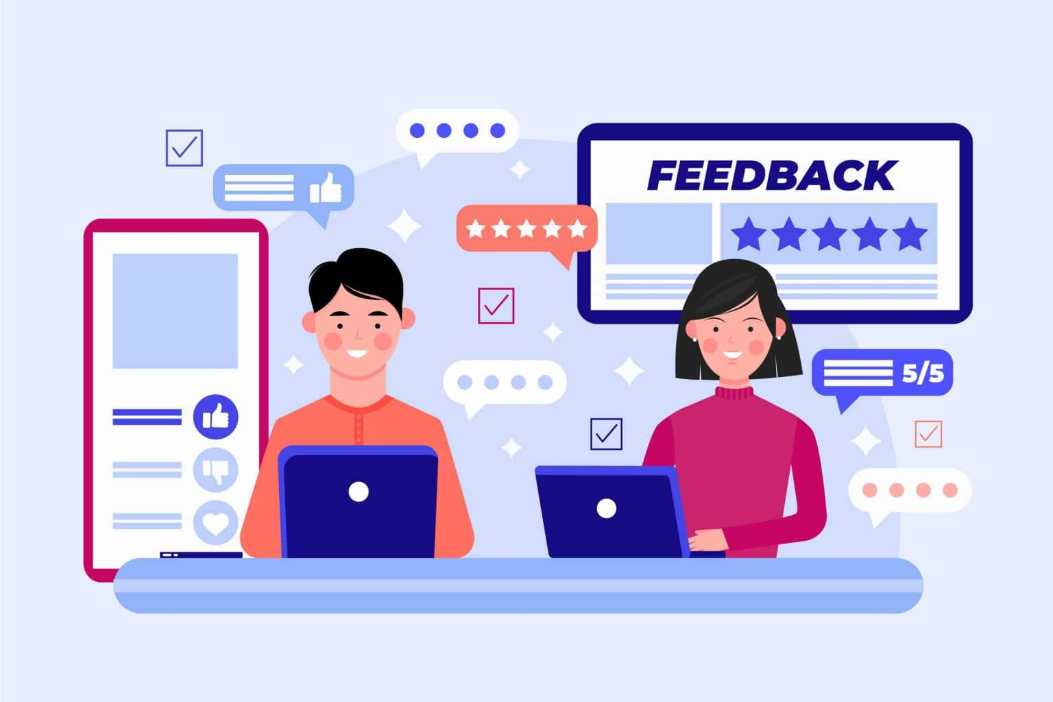 feedback-concept-with-devices